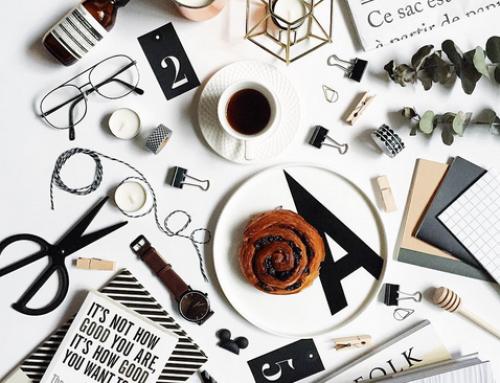 Focus sur une tendance créative : Le flatlay