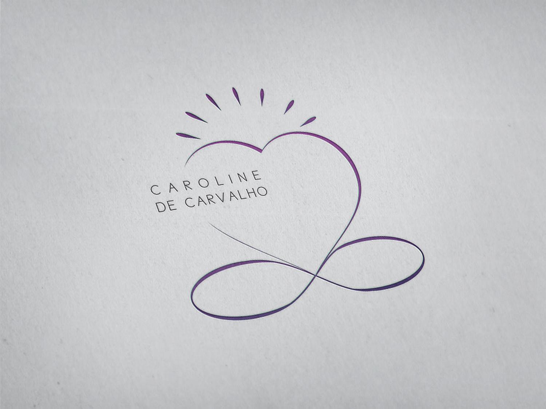 Création identité visuelle – Caroline De Carvalho