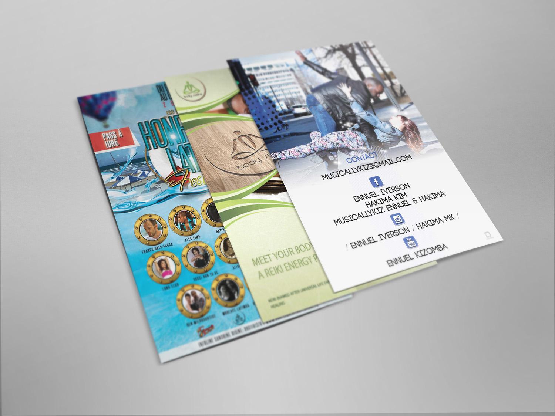 Création flyers – Divers événements