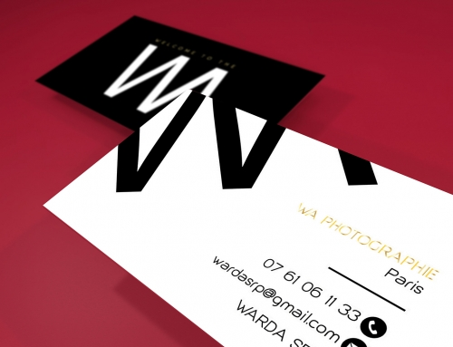 Création business card – WA PHOTOGRAPHIE