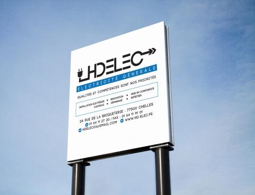 Création identité visuelle – HD ELEC