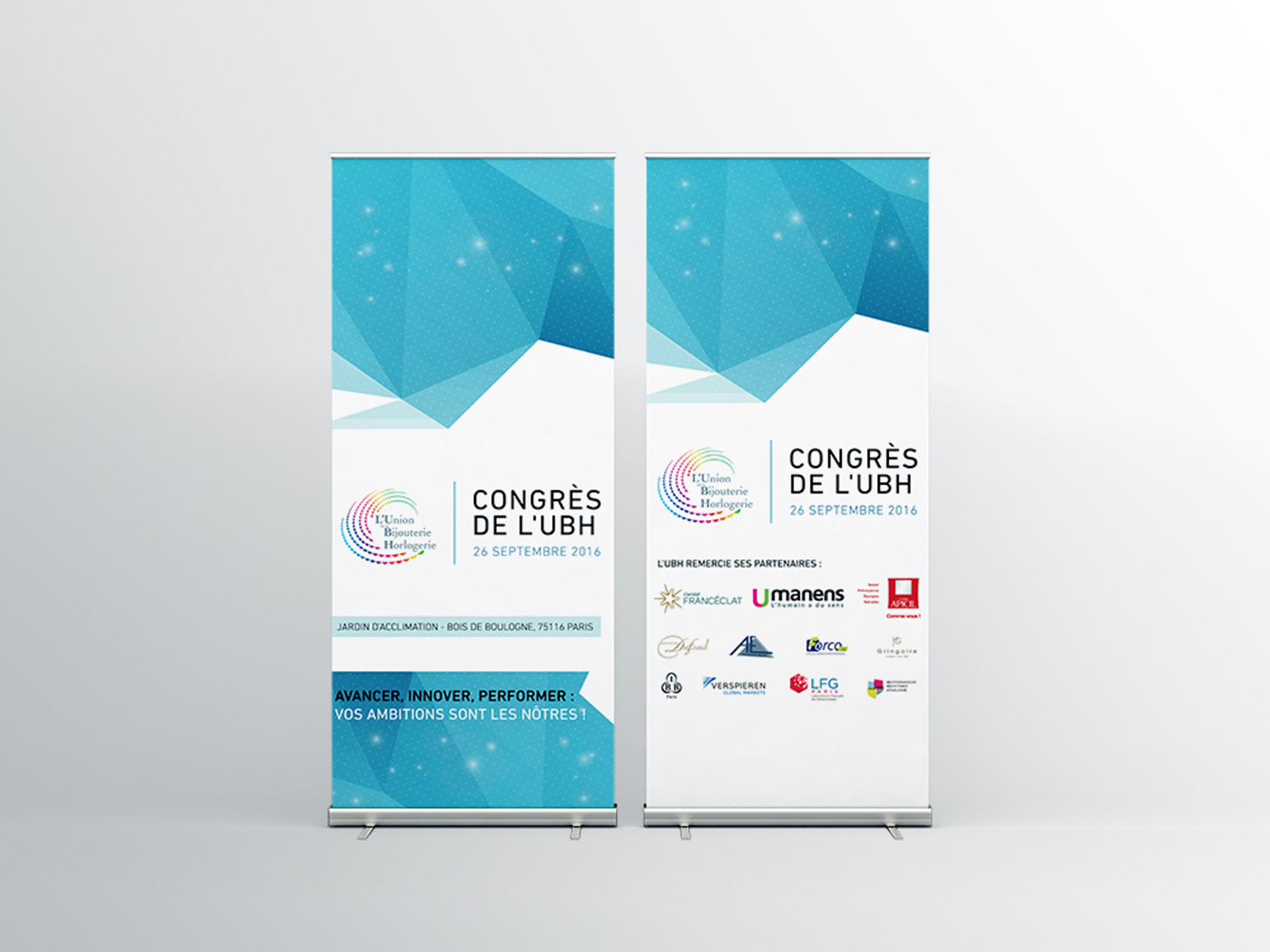 Campagne Communication – Roll-up – UBH