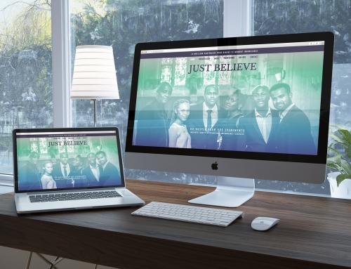 Création Site Web – Just Believe