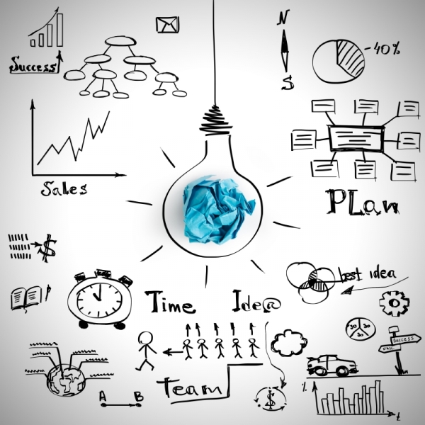 Business sketches - Studio Locadesign - Consultante en Communication