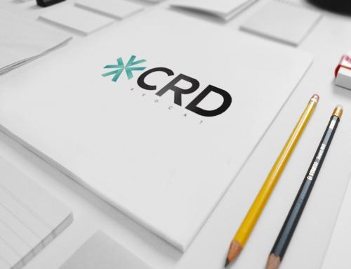 Création identité visuelle CRD Avocat