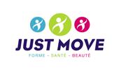 Logo Just Move - Studio Locadesign-Communiquer avec une image alignée à La Seyne sur Mer