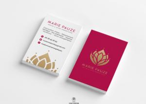 Identité visuelle & Communication digitale Thérapeute Marie Pauze Bien Être Création studio locadesign 92