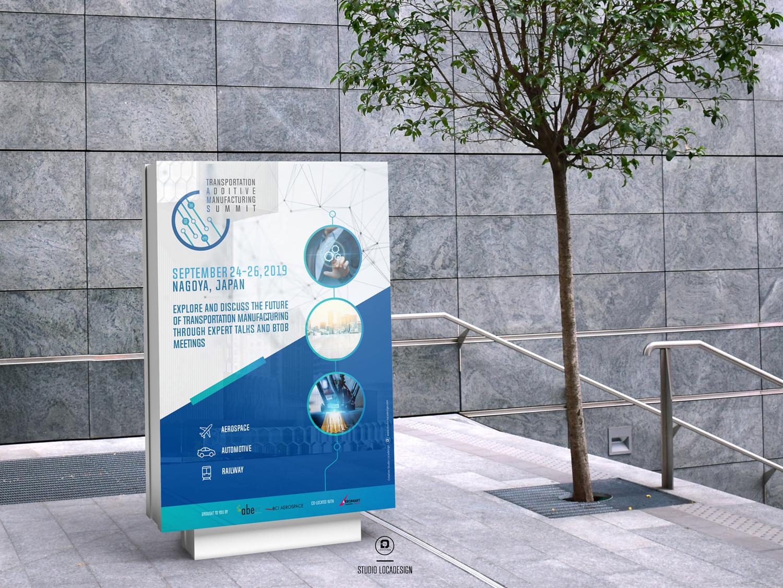 Agence ABE Identité visuelle & Communication Salon TAMS Nagoya Création studio locadesign 92