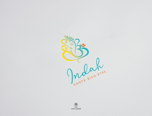 Création image de marque – Indah Santé Bien-Être